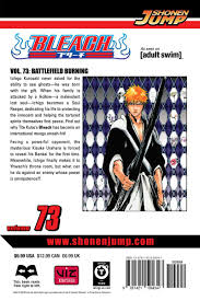 bleach manga volume 73