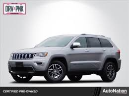 used jeep grand cherokees