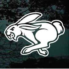 Rabbit Car Decals Stickers Decal Junky