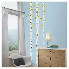52 Birch Trees Peel And Stick Wall Decal Yellow Roommates Target