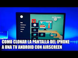 iphone por airplay a una tv android