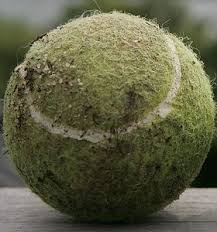 Image result for dirty tennis ball