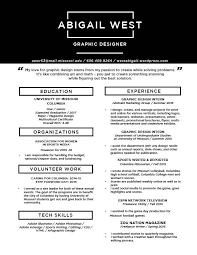 Resume – Abigail West