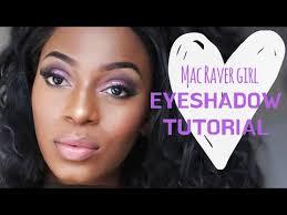 mac raver eyeshadow tutorial