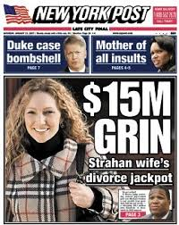 Image result for images of strahan and ex wife divorce battle