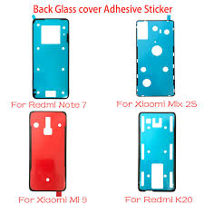 1pcs back glass cover adhesive sticker