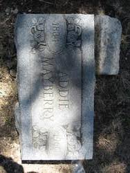 Addie Robinson Mayberry (1884-1960) - Find A Grave Memorial