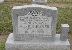 Geneva Avis Morris Fisher (1916-2001) - Find A Grave Memorial