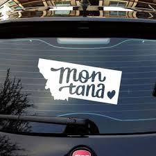 For Montana Car Truck Sticker Decals Art Painting Wall Stickers Vinyl Decor Decals Car Stickers Aliexpress