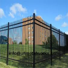China Metal Fence Steel Fence Fencing Panels Wrought Iron Fence Garden Fence China Fence Wrought Iron Fence