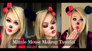 minnie mouse halloween makeup tutorial