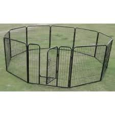 10 X Extra Large Tall Panel Pet Dog Exercise Pen Enclosure Portable Crate Cage Ebay