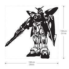 Gundam Xxxg 01w Wing Vinyl Wall Art Decal