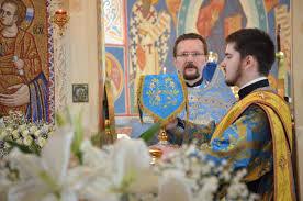 Cлужение в праздник Благовещения Пресвятой Богородицы – Витебская духовная  семинария