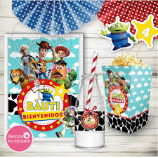 Kit Imprimible Personalizado Toy Story Cumpleanos Party