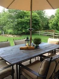 diy patio table top tutorial