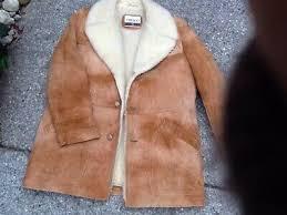 leather sheepskin shearling coat