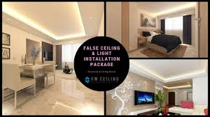 false ceiling bto renovation package