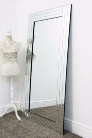 mercury glass wall mirror