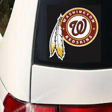 Cool Alternate Washington Redskins Car Wall Decal 6 Inch Wall Graphics Color Ebay