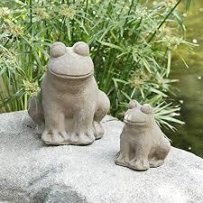 yard art garden stone statues outdoor