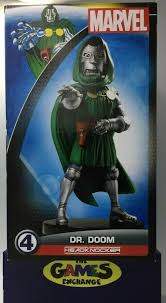 Head Knocker Marvel Classic Dr Doom By Neca Brand New And Sealed