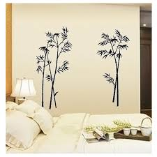 New Black Bamboo Wall Sticker Home Decor For Living Room Wall Sticker Waterproof Removable Wall Decals Mural Poater Sale Up To 70 Stickersmegastore Com