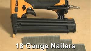 which gauge finish nailers should you