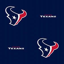 houston texans logo pattern blue
