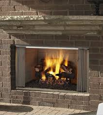 majestic 42 inch outdoor wood fireplace