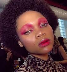 makeup at rihanna s savage x fenty