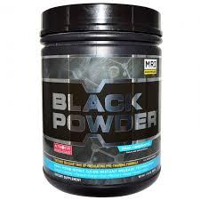 black powder pre workout lifier blue
