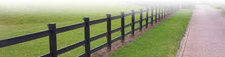 Solway Recycled Plastic Fencing The Alternative To Wooden Posts