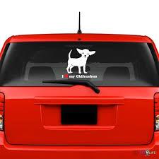 I Love My Chihuahua Sticker Mister Petlife