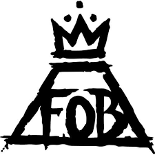 Fall Out Boy Decal Sticker Fall Out Boy Logo Thriftysigns
