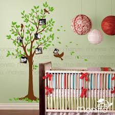 Photo Tree Decal Living Room Decal Modern Home Wall Sticker Etsy