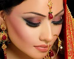 bridal makeup smokey eye brown eyes