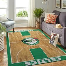 Boston Celtics Rug Room Carpet Sport Custom Area Floor Mat Home Decor Everestshirt Com Shirts Shop Funny T Shirts Make Your Own Custom T Shirts
