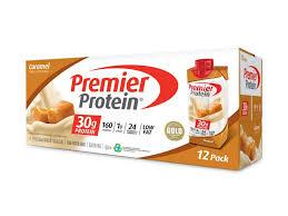 caramel protein shake premier protein
