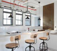 bar stool industrial kitchen industrial