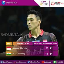 badmintalk com result update from fuzhou open facebook
