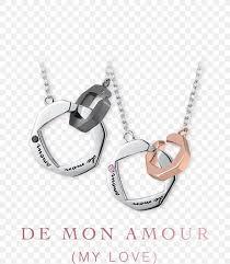charms pendants necklace couple love