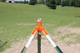 Lockjawz T Post Corner Brace Kit Orange