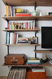 diy bookshelf plans diy wall shelves