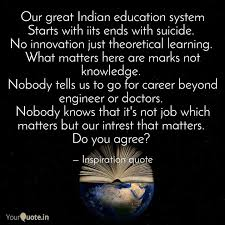 our great n educatio quotes writings by rajat singh