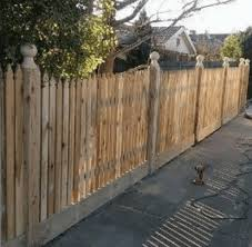 Timber Picket Fence Fencing Quotes Online Picket Fencing