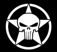 Us Army Punisher Skull Mask Car Window Phone Vinyl Decal Sticker Die Cut Ay005