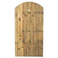 Closeboard Gate Arch Top 1750 X 915mm Fsc Hardwood Doors Fence Panels Oak Doors