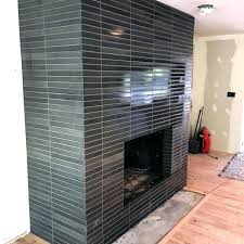 tile fireplace surround ideas modern