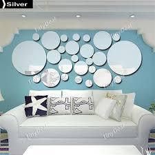 26pcs diy decorative mirrors wall